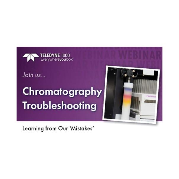 Teledyne ISCO webinar Preparative Chromatography