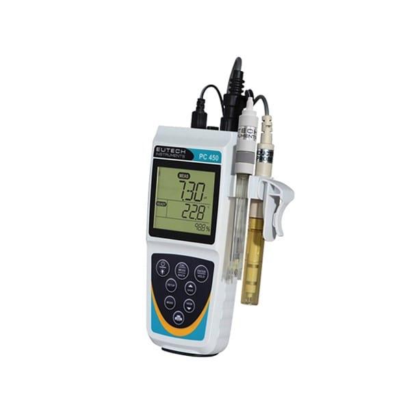 Eutech PC 450 pH conductivity meter